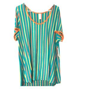 New tunic top classic T LLR plus 2XL stripes